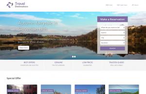 Listing site - Travel Destinations