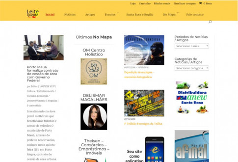 LeiteQuente.com – No Mapa