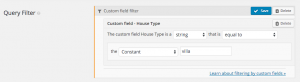 Get all posts with 'House Type'='villa'