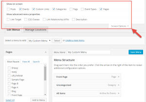 Add Custom Post Type to the WP Menu editing page