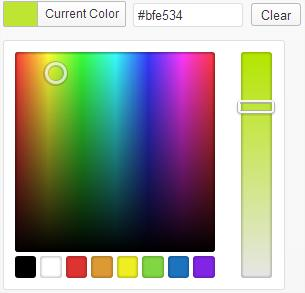 Types 1.5 Colorpicker