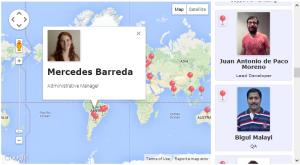 Google Maps plotting Views output