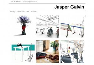 jaspergalvin.com - a website made with Types and Views