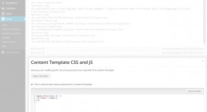 Show Details Content Template, js section. Here's where you add your js plugin to your Content Template.