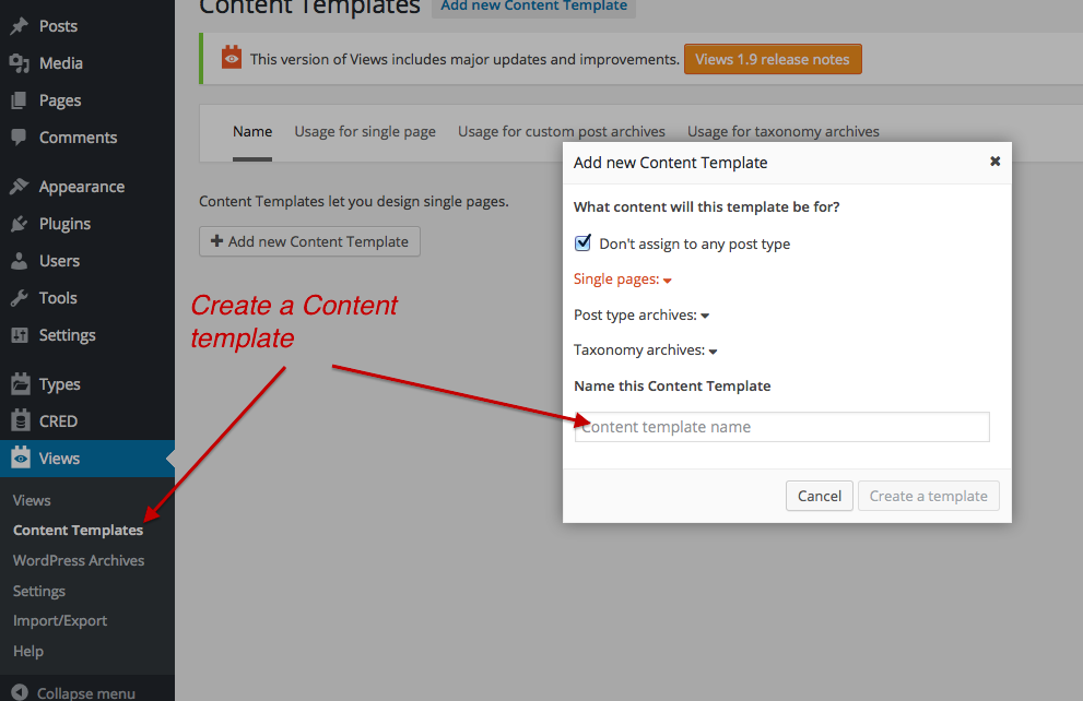 How To Createedit A Single Post Page Template Toolset
