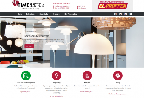 Norway's largest electrician chain