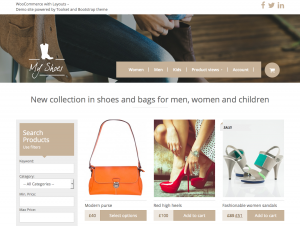 Get inspired by fully designed WooCommerce with Toolset