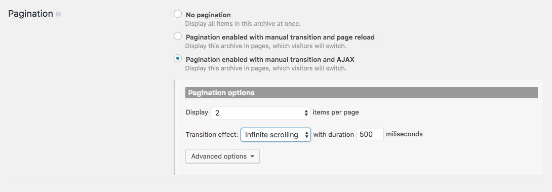 Infinite Scrolling for WordPress Content