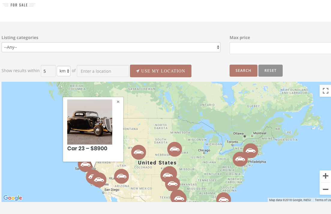 ads-on-maps-classifieds-site