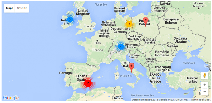 toolset maps clusters example