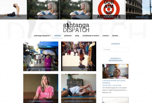 Ashtanga Dispatch