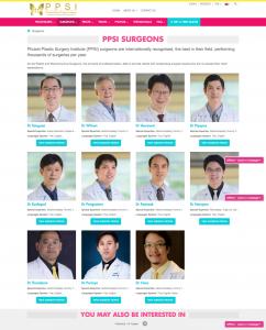 Surgeon Archive - front-end