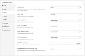Avada slider option is disabled by Toolset integration