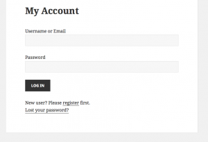 Toolset allows you to display your custom login form.