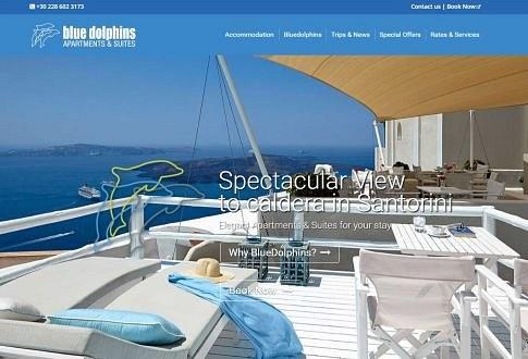 Blue Dolphins Hotel Santorini