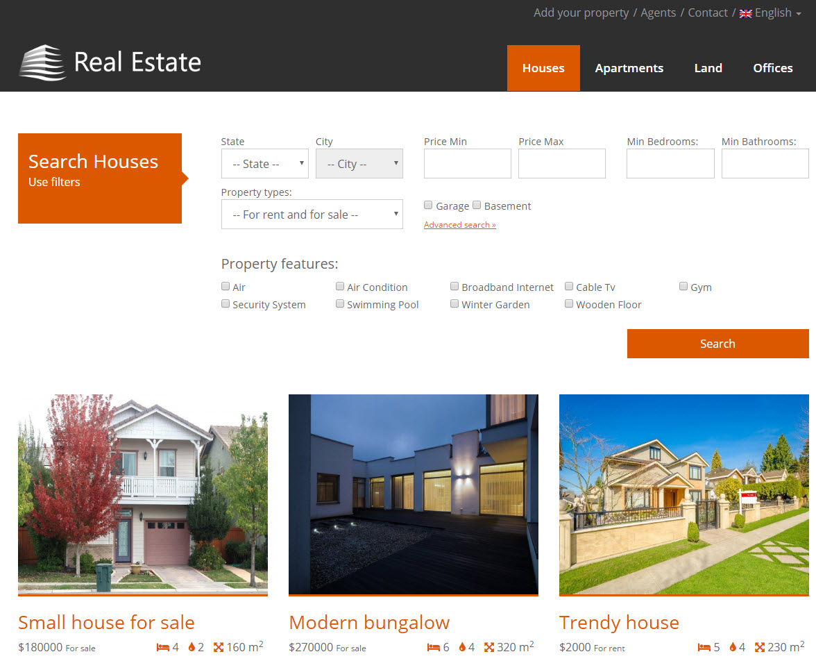 Custom Search For Houses