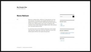Single custom post as displayed by the Twenty Sixteen theme's default template