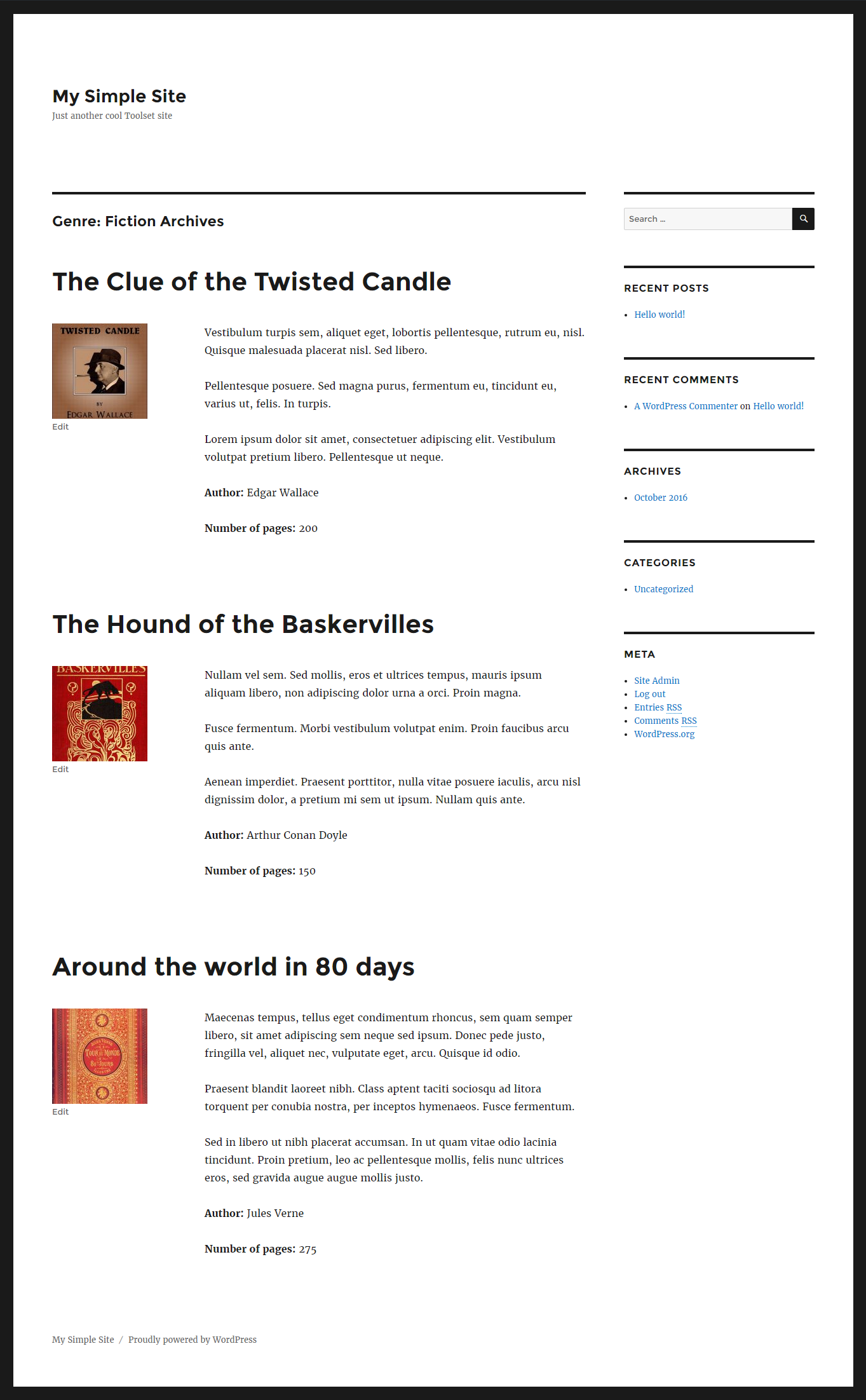 Creating Taxonomy Term Archives - Toolset