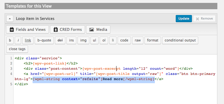 Using the wpml-string shortcode when translating sites built with ...
