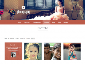 Filterable portfolio built with the Toolset Starter theme