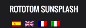 Rototom.com ist in 4 Sprachen verfügbar