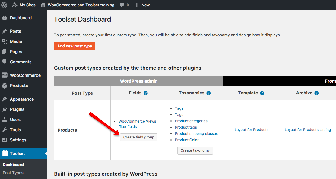 Adding Custom Fields and Taxonomies to WooCommerce Products