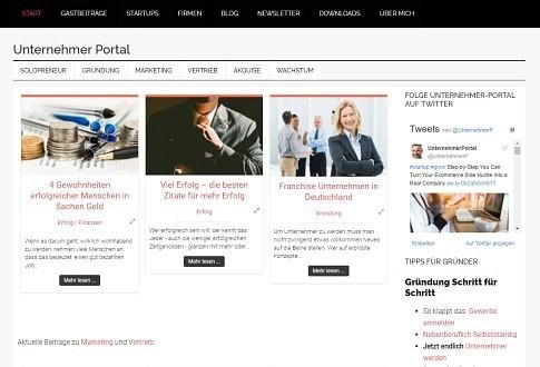 Blog for Entrepreneurs – Das Unternehmer-Portal.net