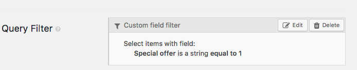 Using filters to display posts that meet certain criteria