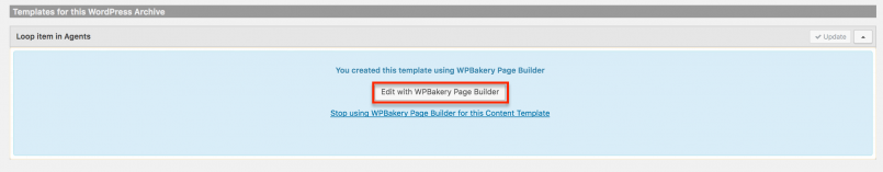 WPBakery and Toolset