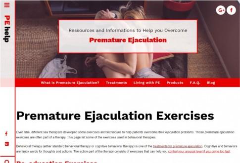 Premature Ejaculation Help