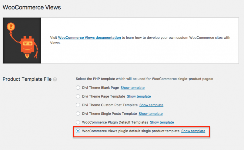 Switching from WooCommerce default templates to Toolset templates
