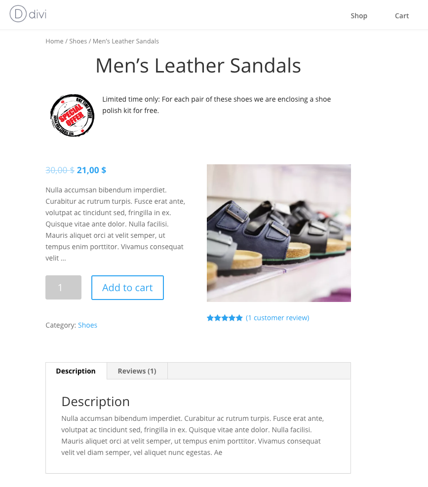 Creating a custom single product page with divi builder - Divi builder woocommerce product page ...