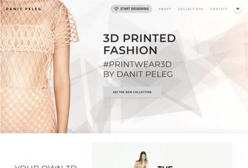 Danit Peleg – The world's first bespoke 3D printed garment