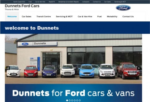 Dunnets Ford Cars