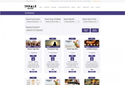 Inhale Miami Yoga Studio