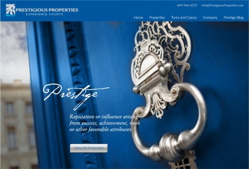 Prestigious Properties – Real Estate Listings Site