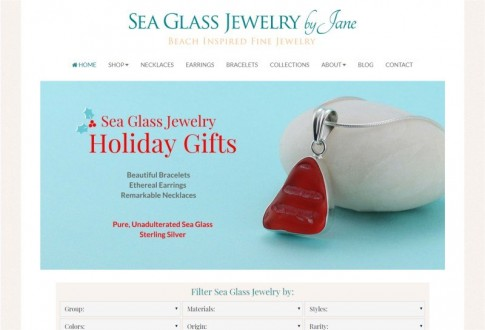Sea Glass Jewelry by Jane