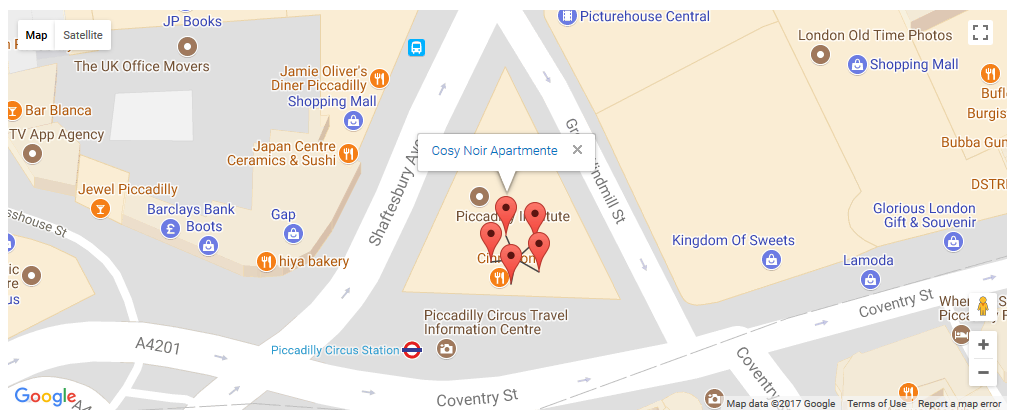 Displaying Markers On Maps Toolset - Google maps custom marker