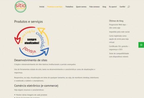 Sítio Eletrônico – digital agency