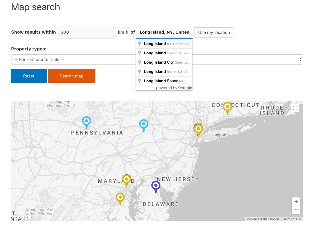 Advanced Google Maps Features in Toolset Reference Sites ... on