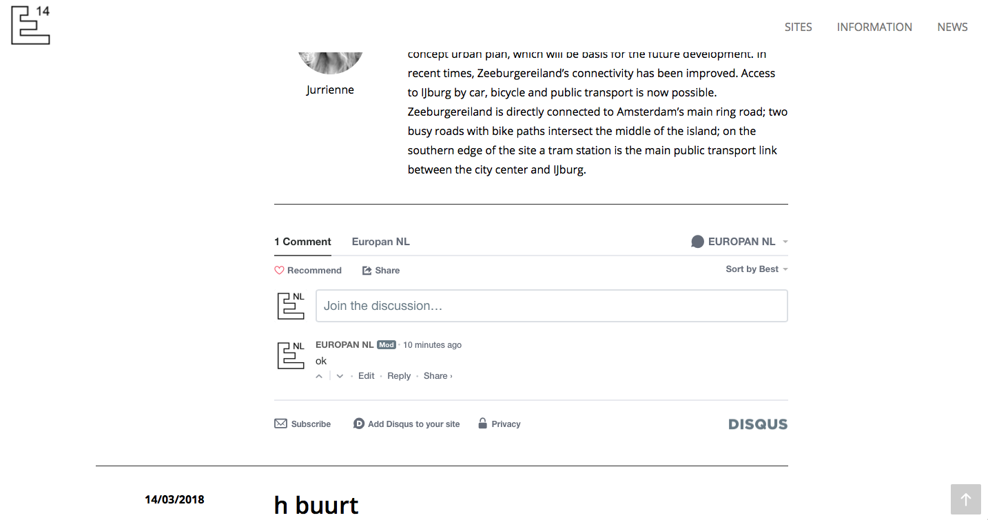 would like to add Disqus comments to my blog list - Toolset