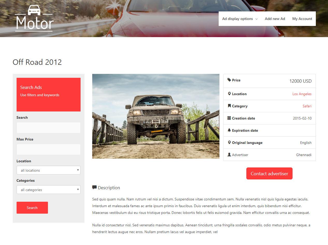 create templates to display custom posts toolset
