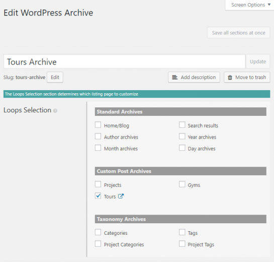 Design archives for custom post types with Divi Builder and