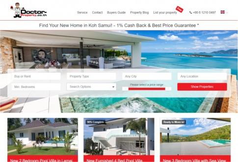 Doctor Property (real-estate agent in Thailand, esp. Koh Samui)