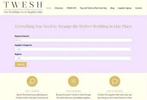 TWESH (The Weddings Event Supplier Hub)