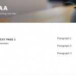 screenshot 2 - the new page saved and displayed on the front end.png