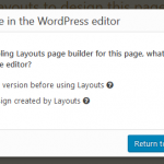 screenshot 9 - the panel after clicking Stop using the Content Layout Editor.png