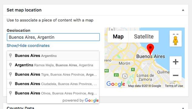 Toolset Maps
