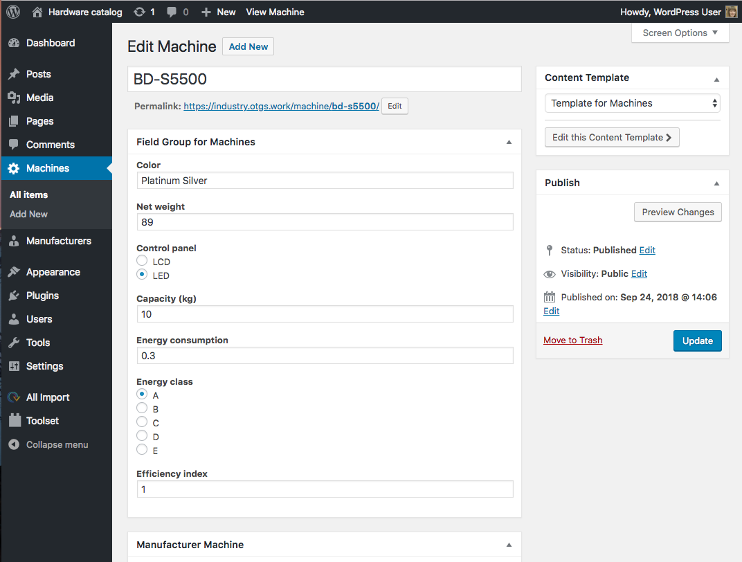 How to Migrate from a Custom Database Design into WordPress - Toolset
