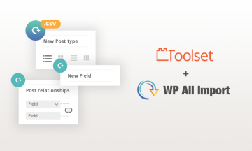 Toolset and WP All Import integration